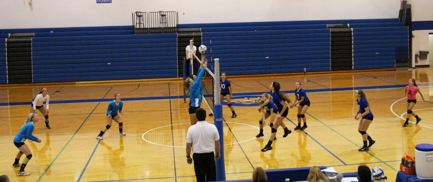 Ravenna rallies to beat North Muskegon in five sets in Class C district volleyball opener