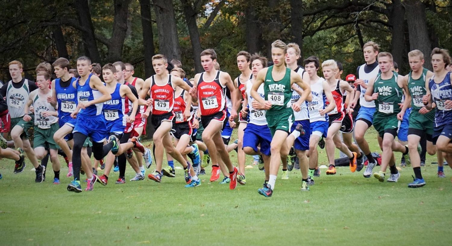Fremont boys cross country team runs away with Division 2 state championship