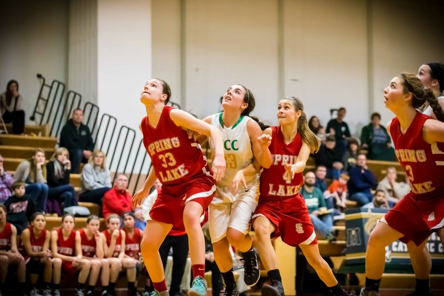 Photos from Spring Lake's trouncing of Muskegon Catholic in Lakes 8 girls basketball opener