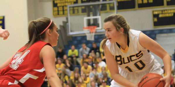 Mariani's late bucket gives Grand Haven girls a 57-56 victory over neighborhood rival Spring Lake