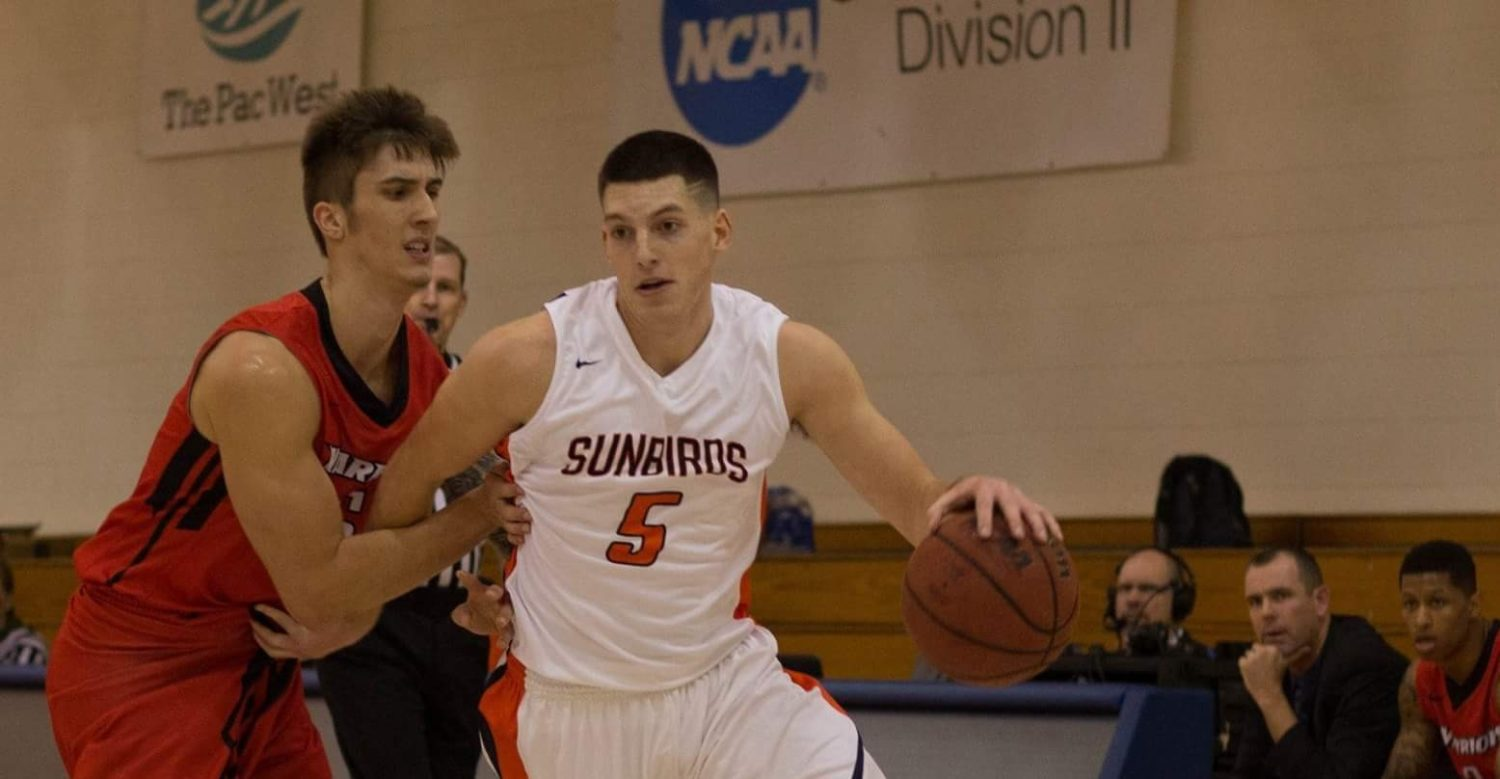 North Muskegon's Spencer Krannitz is thriving with his new basketball team at Fresno Pacific University