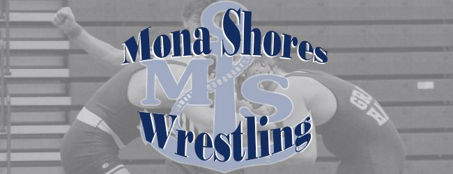 Mona Shores wrestling team falls to Jenison and Caledonia in dual matches