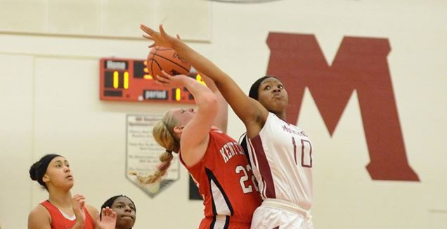 Kaitlyn Geers hits last second layup to lift Kent City over Muskegon 59-58 in girls basketball opener