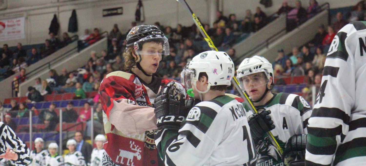 Lumberjacks give up tying goal late, then lose to Cedar Rapids in overtime shootout