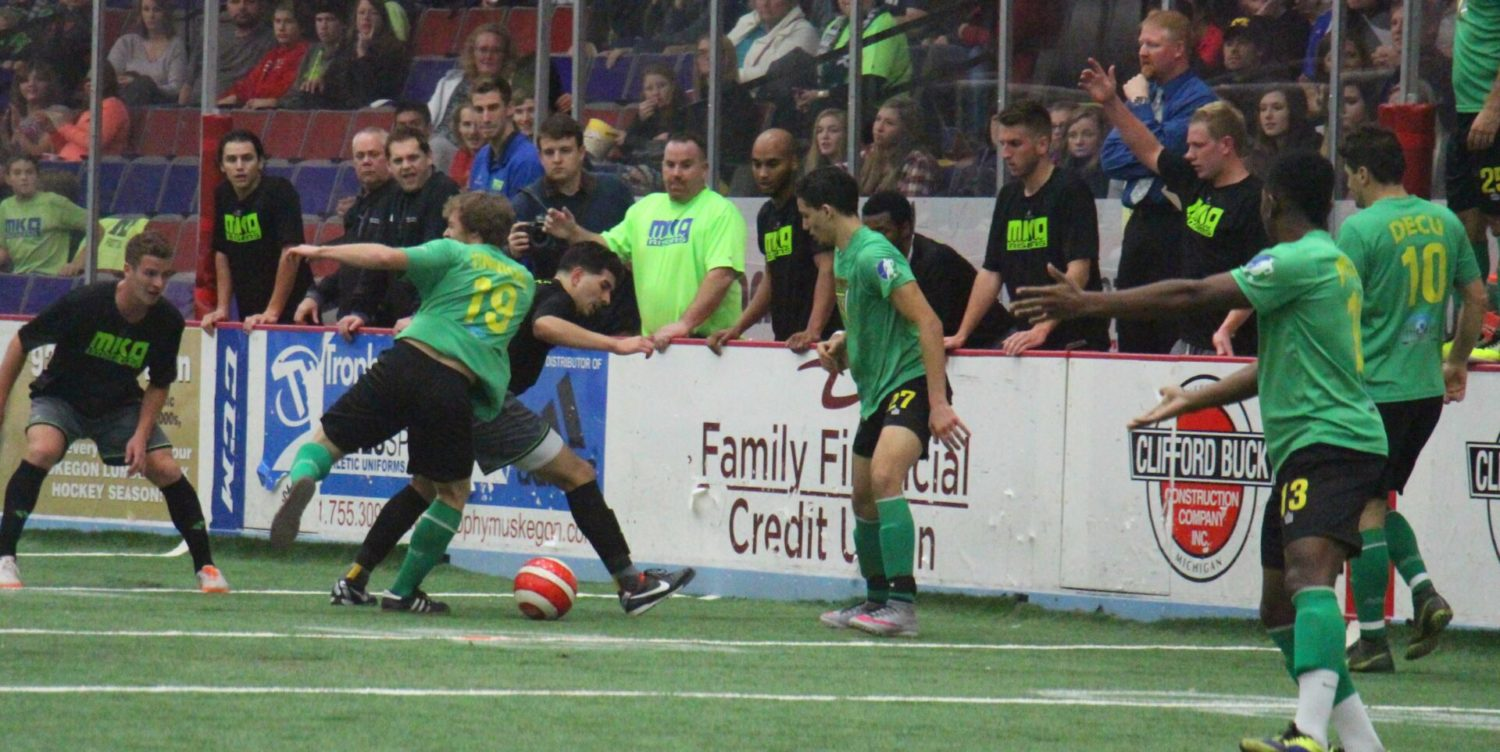 Muskegon Risers fall in special indoor soccer exhibition, but everyone is pleased with the experience