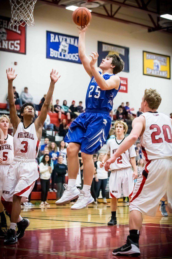 Montague #25 Josh WeesiesHits the jumper photo/Tim Reilly