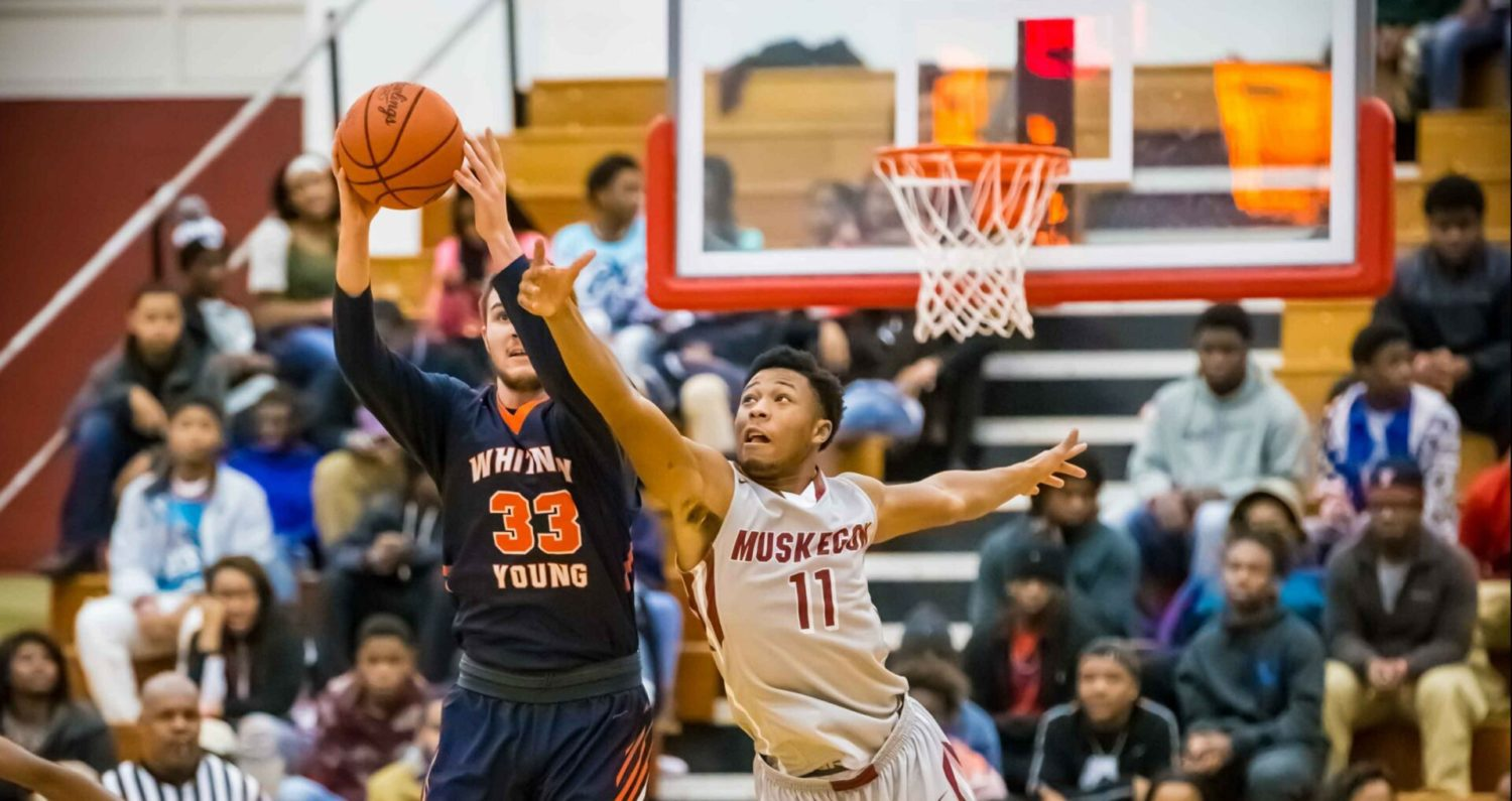Muskegon Big Reds lose late lead to Chicago Whitney Young, drop home game at Muskegon Basketball Showcase