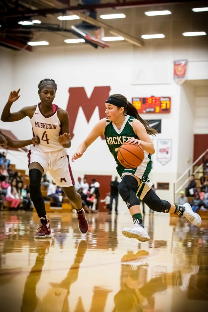 Reeths-Puffer girls put the O-K Black on notice by beating Muskegon 62-53