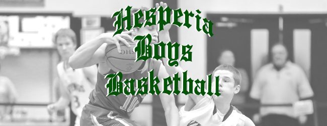 Hesperia picks up a non-league win over Pentwater in boys basketball