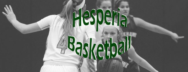 Hesperia downed by White Cloud in CSAA girls basketball contest