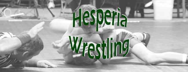 Hesperia wins its 21st wrestling district in 25 years, defeats Ravenna in finals