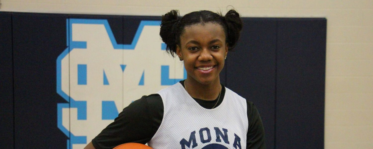 Mona Shores' Jordan Walker is putting up the points, after battling back from scary ACL tear