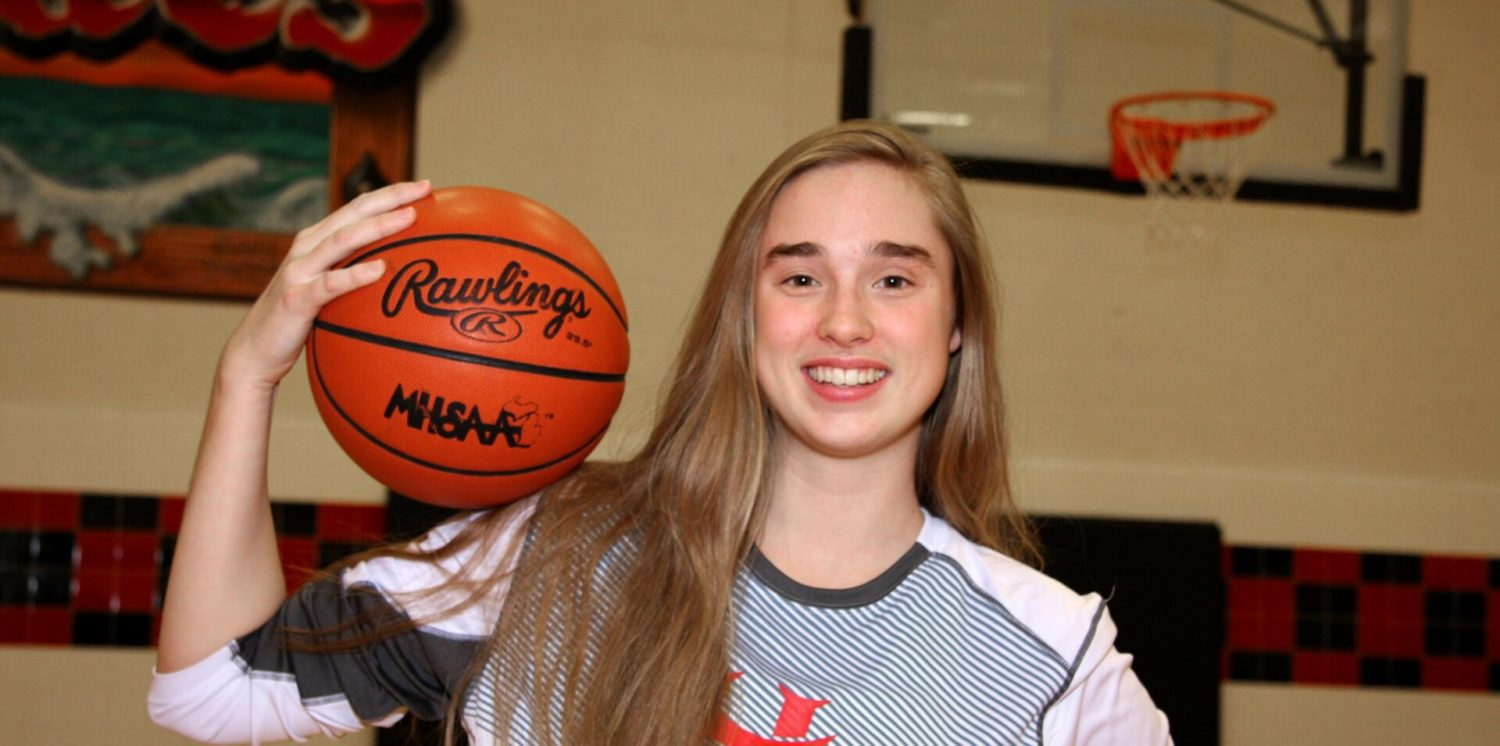 Baylee Draper is playing the lead in Hart's resurgence on the basketball court