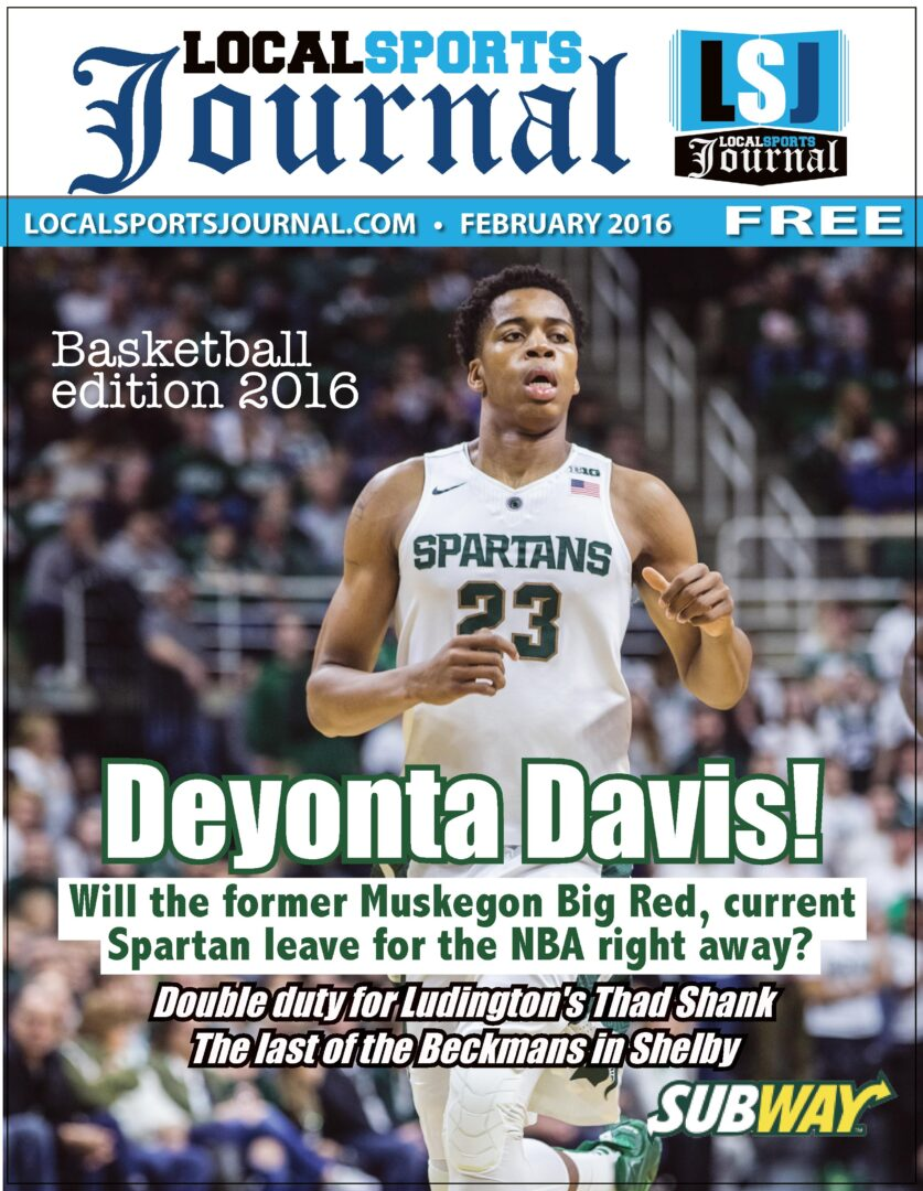Check out February's Local Sports Journal magazine, with Michigan State's Deyonta Davis on the cover