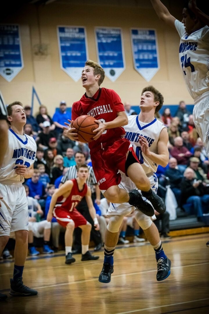 Whitehall boys down Montague 76-65 and remain tied for the conference lead