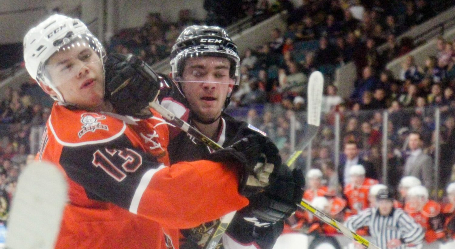 Muskegon Lumberjacks win third in a row, in front of 3,828 fans at L.C. Walker Arena