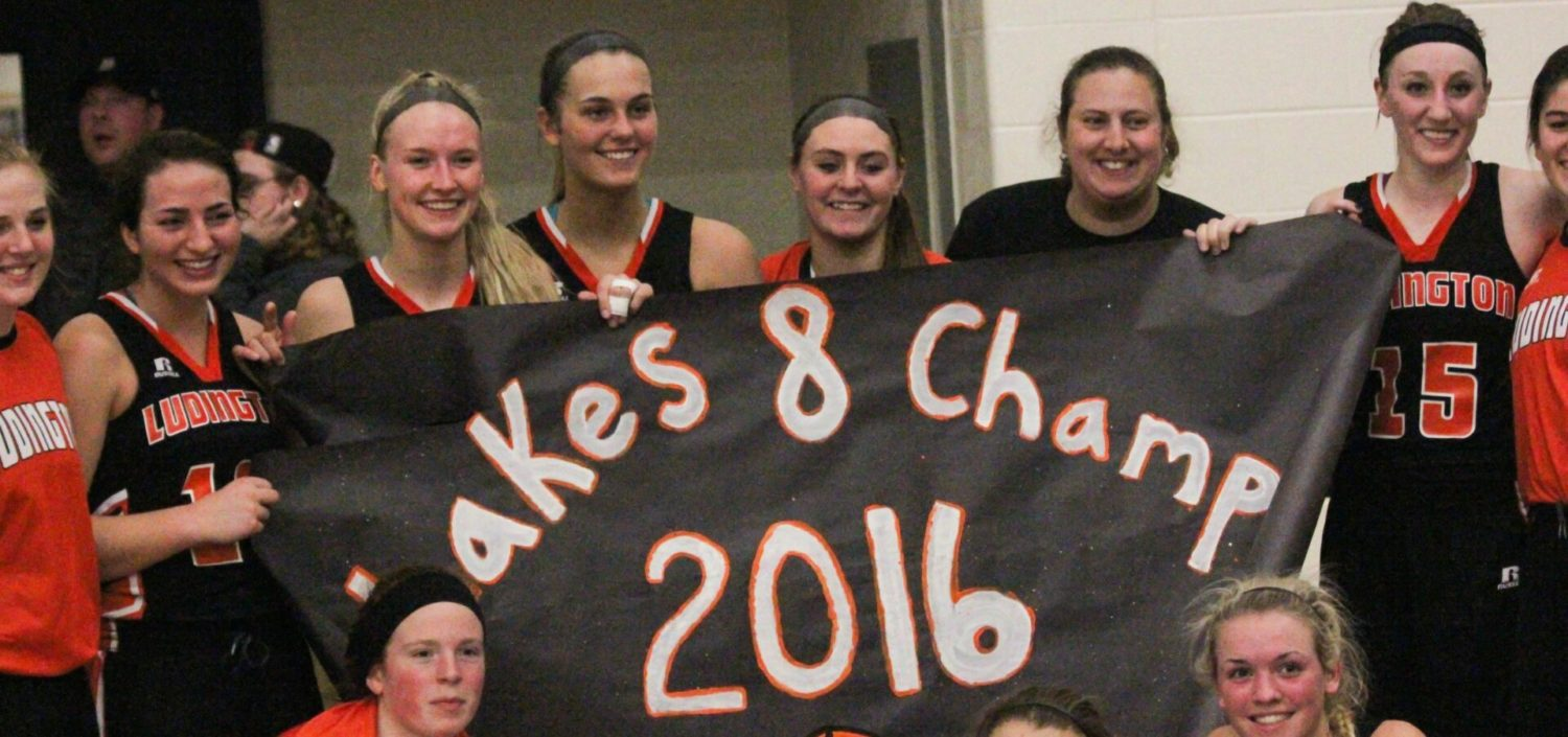 Ludington girls down Fruitport in showdown, force a three-way tie for Lakes 8 title