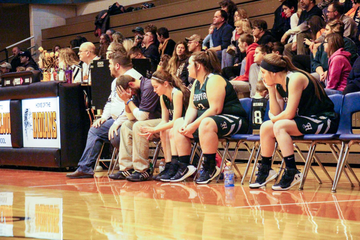 Hesperia girls hoops: 17 painful losses, one exciting win, and they're still having fun!