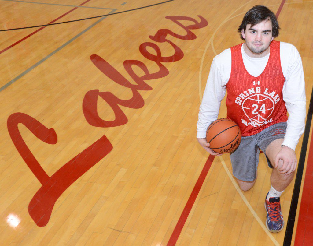 Spring Lake senior Keegan George wants to have another March Madness run with his team. Photo/Marc Hoeksema