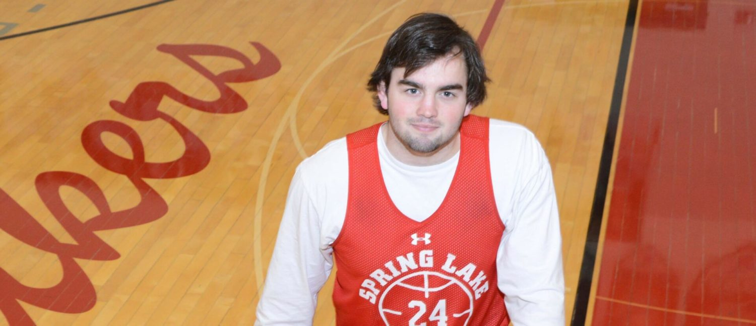 Senior Keegan George is leading a young Spring Lake basketball team to a lot of early success