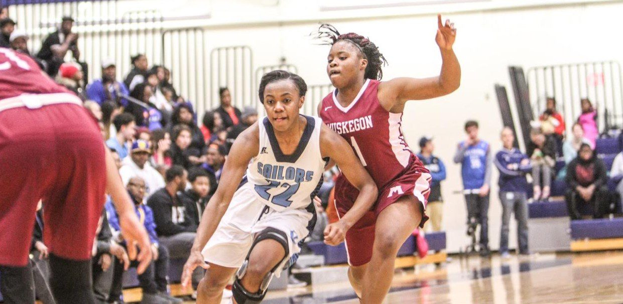 Mona Shores girls get even with Muskegon, beating the Big Reds 55-34 in a league showdown