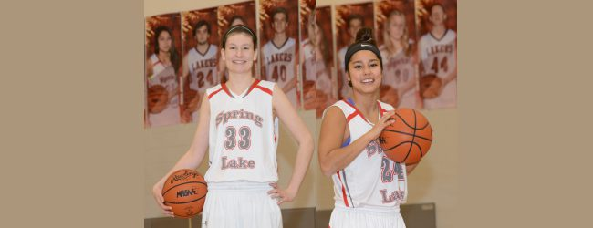 The long and the short of it: 6-2 Remi French and 5-3 Reiko Johnson providing points for Spring Lake