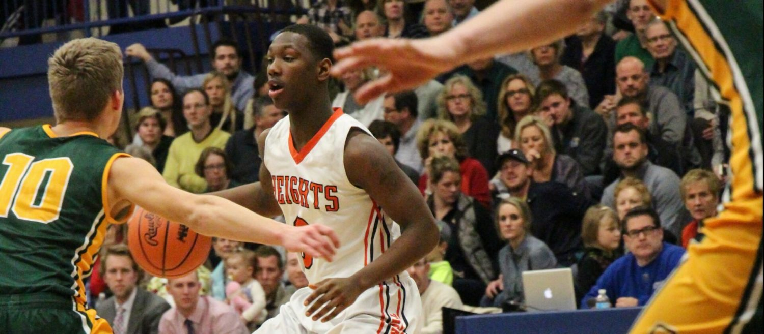 Muskegon Heights boys fall 39-35 to Calvin Christian in Class C regional finals