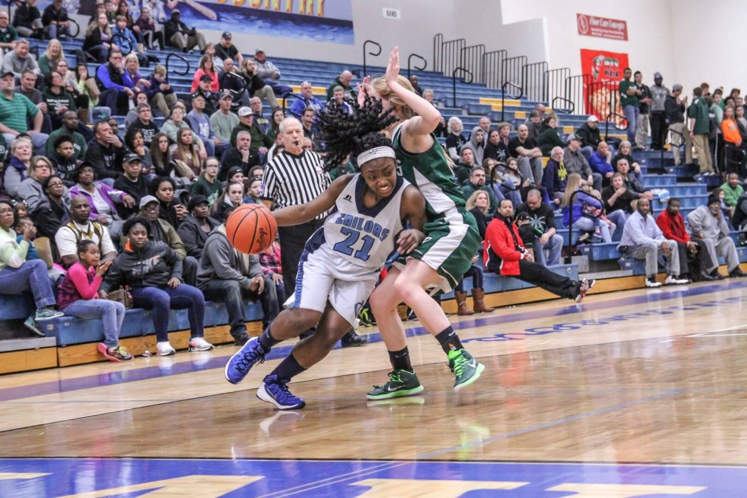 Mona Shores wins another Class A district title with another win over R-P