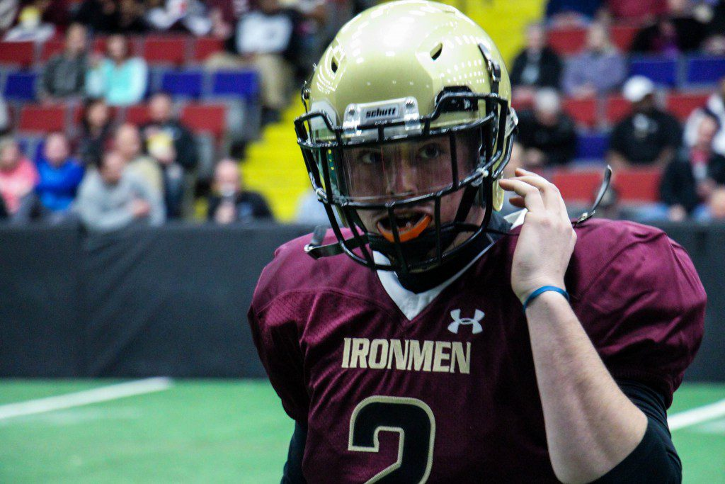 Ironmen quarterback Stephen Kulkowski. Photo/Jason Goorman