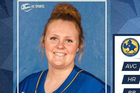 MCC softball standout Katie Hendrickson named National Player of the Week