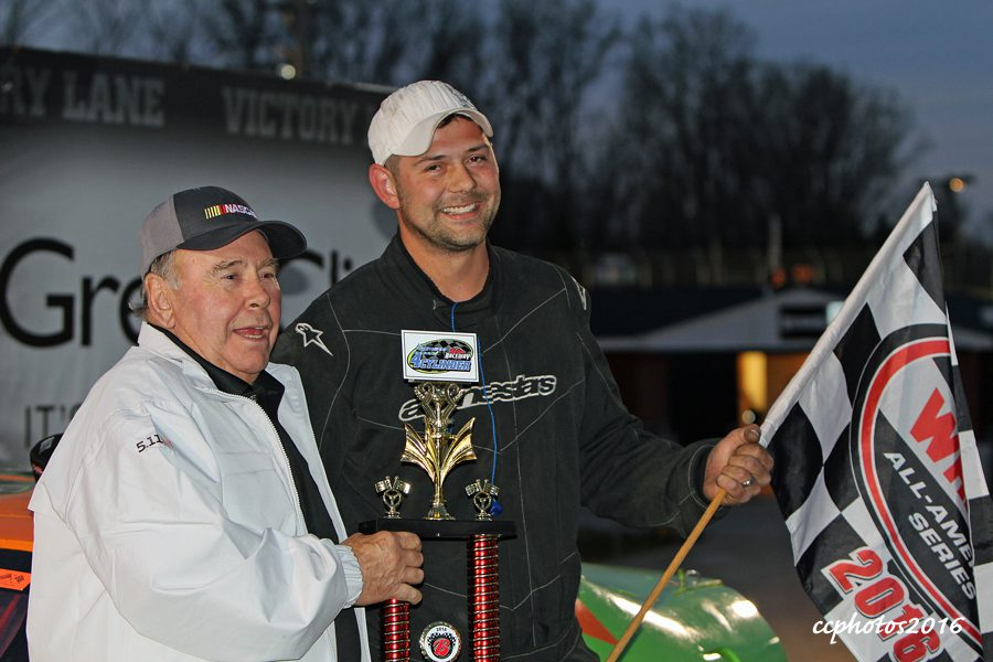 4 Cylinder feature winner Cole Roelofs. Photo/Carol Cooper