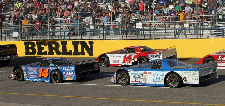 Saturday's results from Berlin Raceway