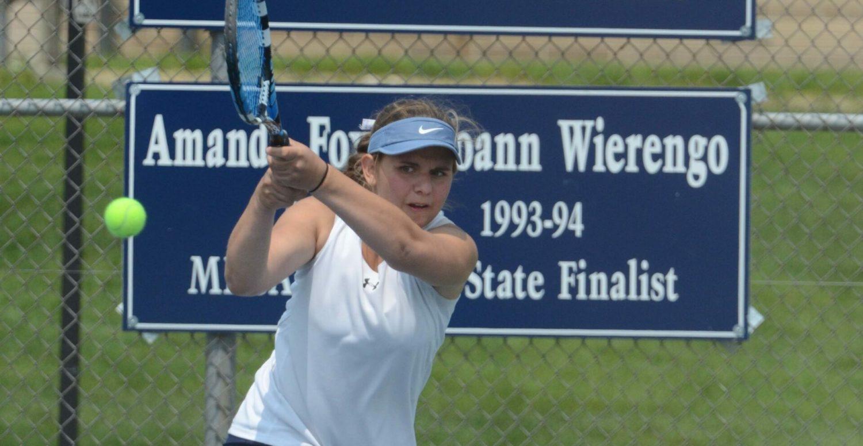 German exchange student, N. Muskegon take city tennis tournament honors