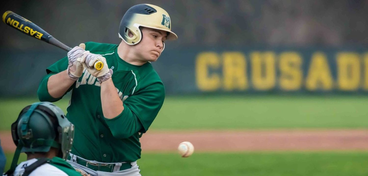Taking a bunch for the team: MCC's Holt sets state record for being hit by pitches