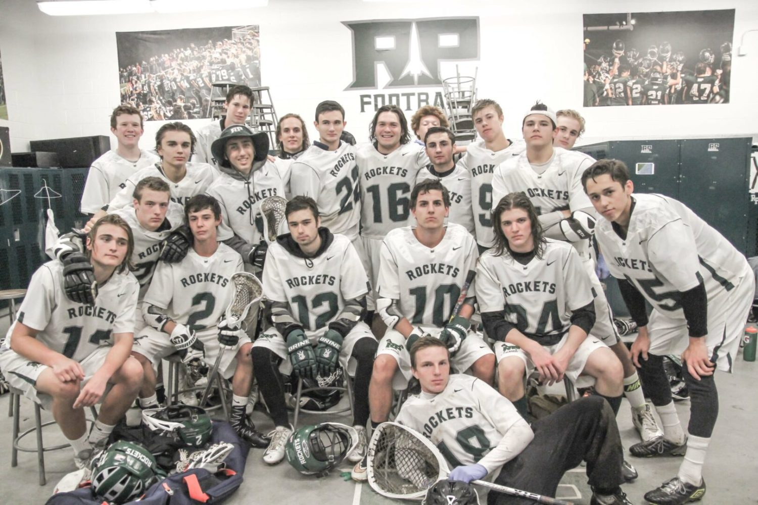 2016 Reeths-Puffer lacrosse team. Photo/Joe Lane