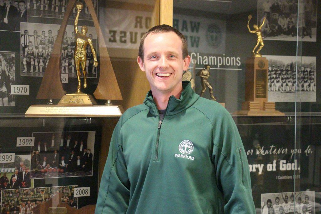 The new WMC girls varsity basketball coach, Jeremy Goorman.