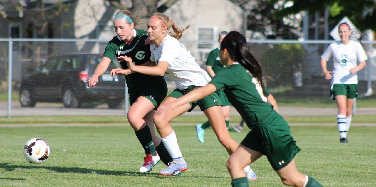 Western Michigan Christian girls blank GR West Catholic in soccer