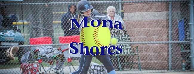 Dew collects eight hits in Mona Shores softball twin bill sweep over GR Union