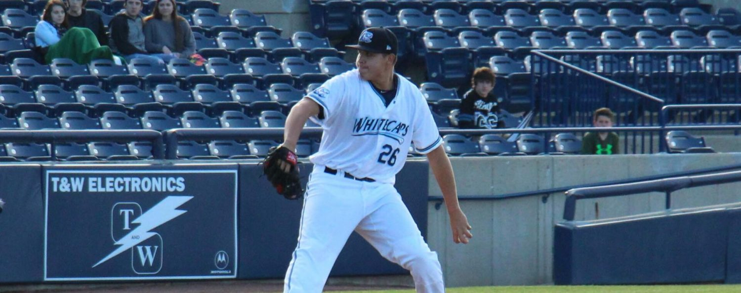 A late-inning miscue leaves Whitecaps with a 4-2 loss to Beloit in series opener