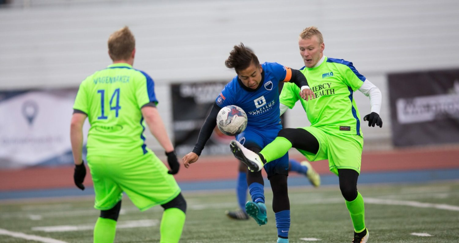 Muskegon Risers fall to Grand Rapids FC 1-0 in a tight game at Houseman Field