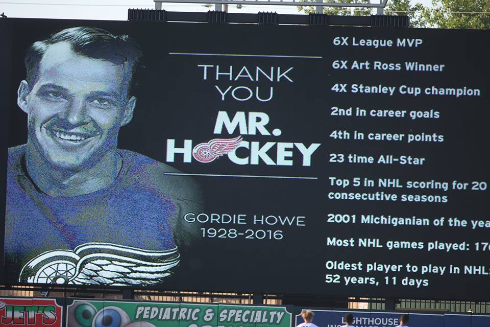 West Michigan takes time to honor Mr. Hockey, Gordie Howe, who passed away at the prime age of 88.