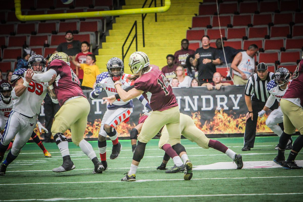 Ironmen set to host Lehigh Valley Saturday in league semifinal playoff game