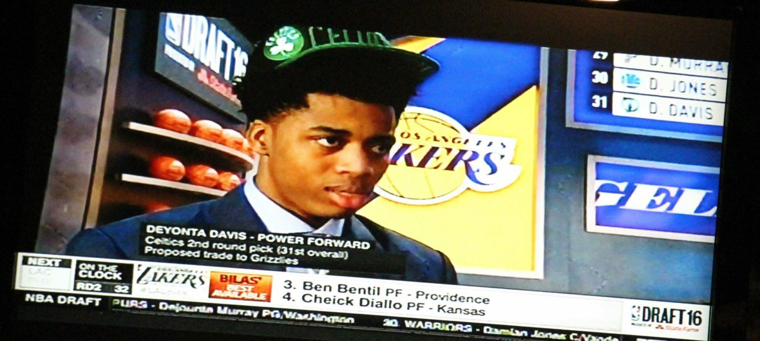 Deyonta Davis fans are still proud of him, even though he dropped in the draft.