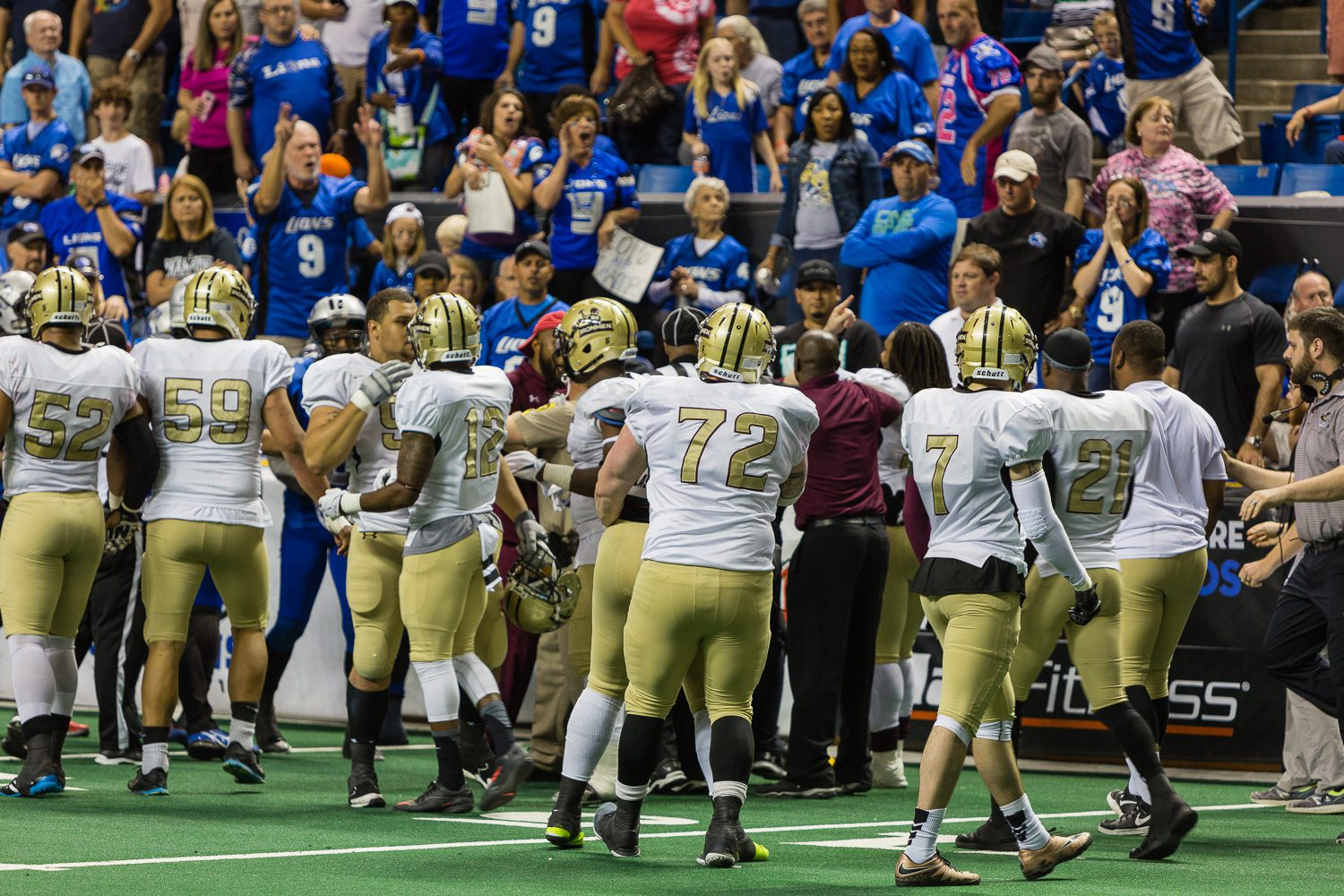 Lynk says Ironmen ended title game early for safety, following abuse from fans