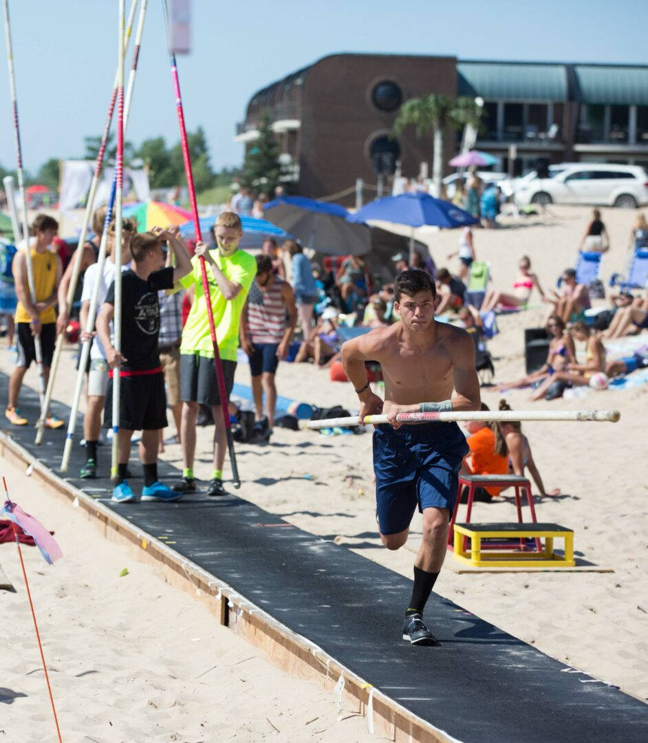 [VIDEO] Grand Haven Beach Vault 2019 delivers two days of top athletes