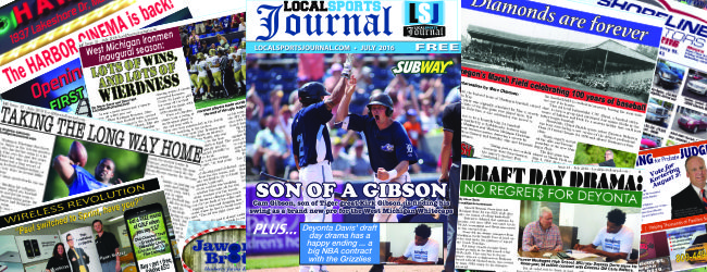 New LSJ magazine features Whitecaps' Cam Gibson, son of Tiger great Kirk Gibson
