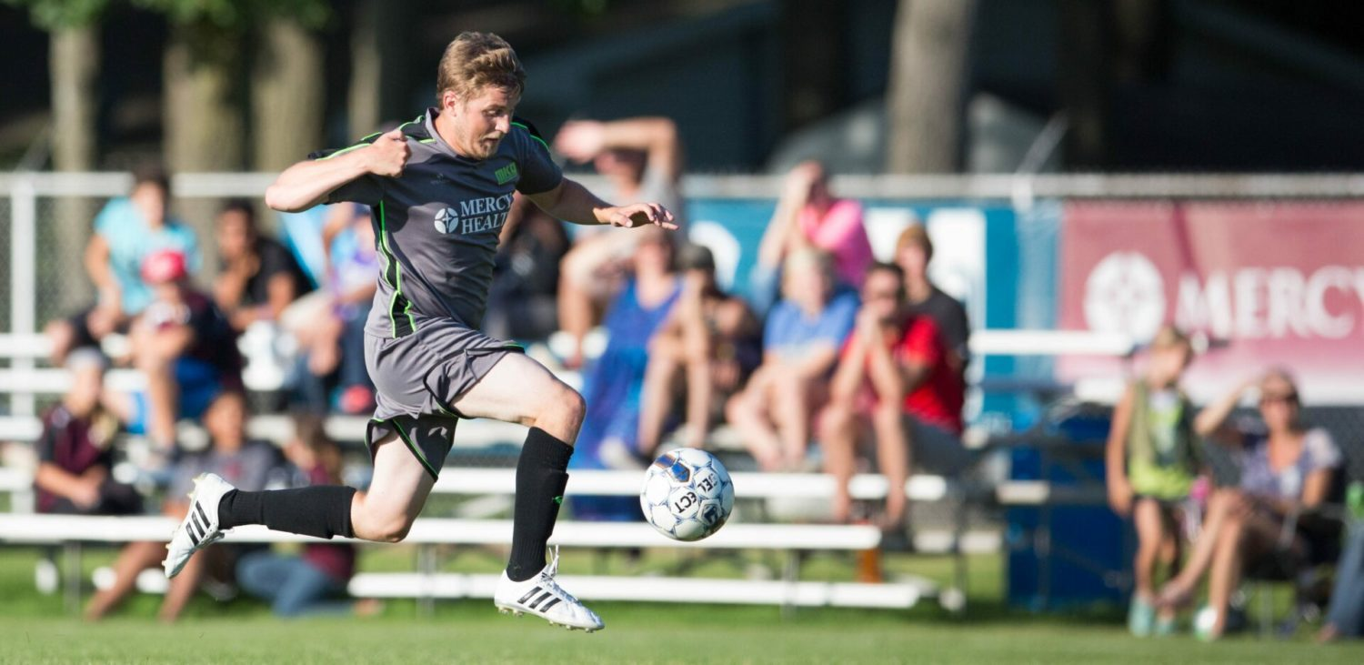 Muskegon Risers win third straight game with a 1-0 victory over Oakland County FC