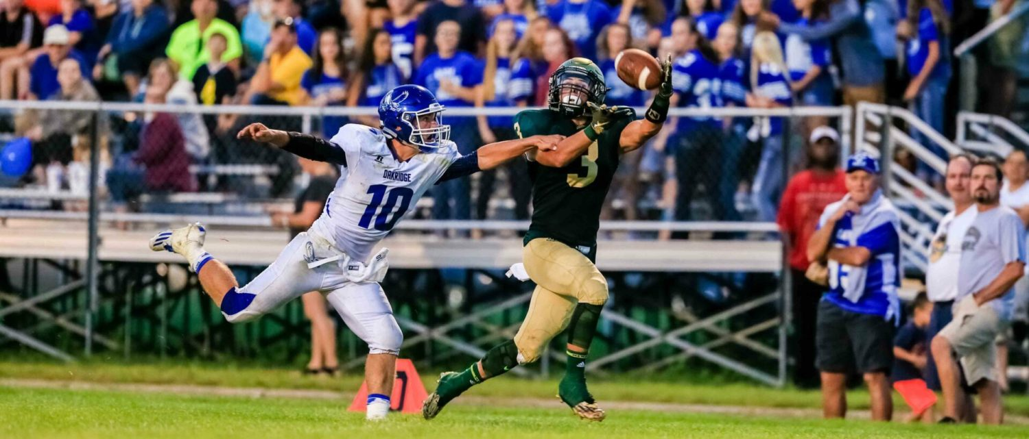 [VIDEO] highlights of Muskegon Catholic's Week 1 matchup with Oakridge