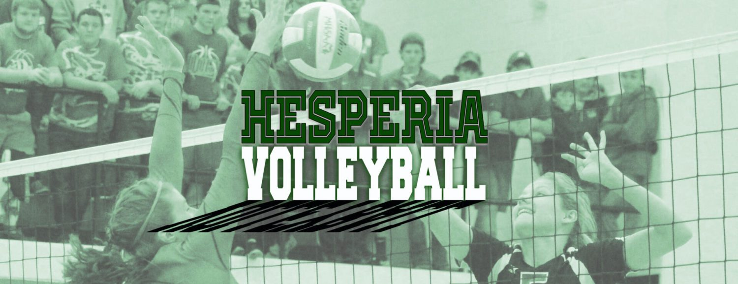 Hesperia goes 2-1 in volleyball quad