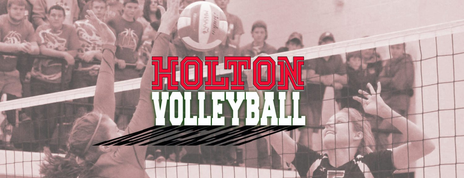 Baker's strong play at the net lifts Holton volleyball squad past White Cloud